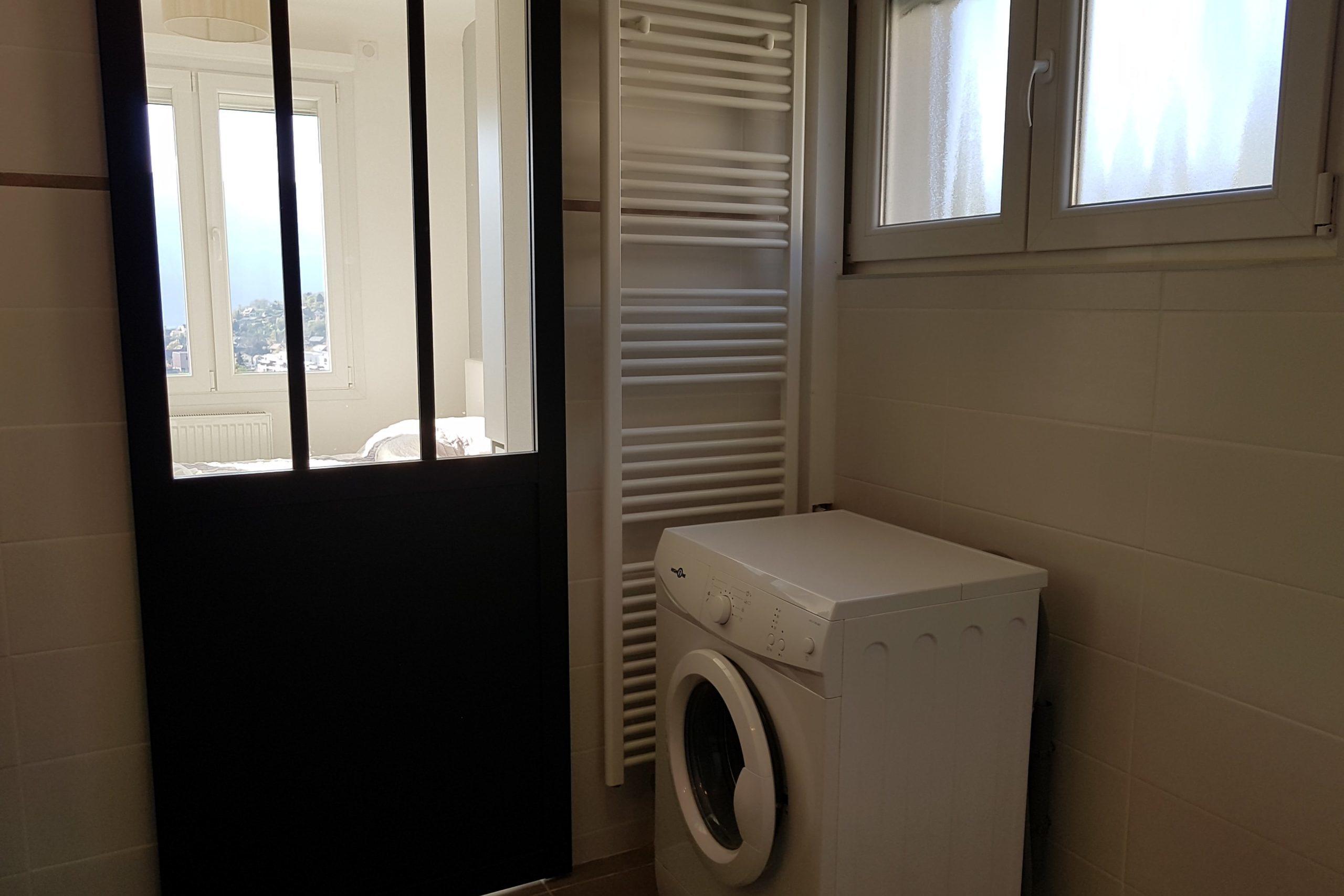 Salle de bain, machine à laver - Le Lofty-min