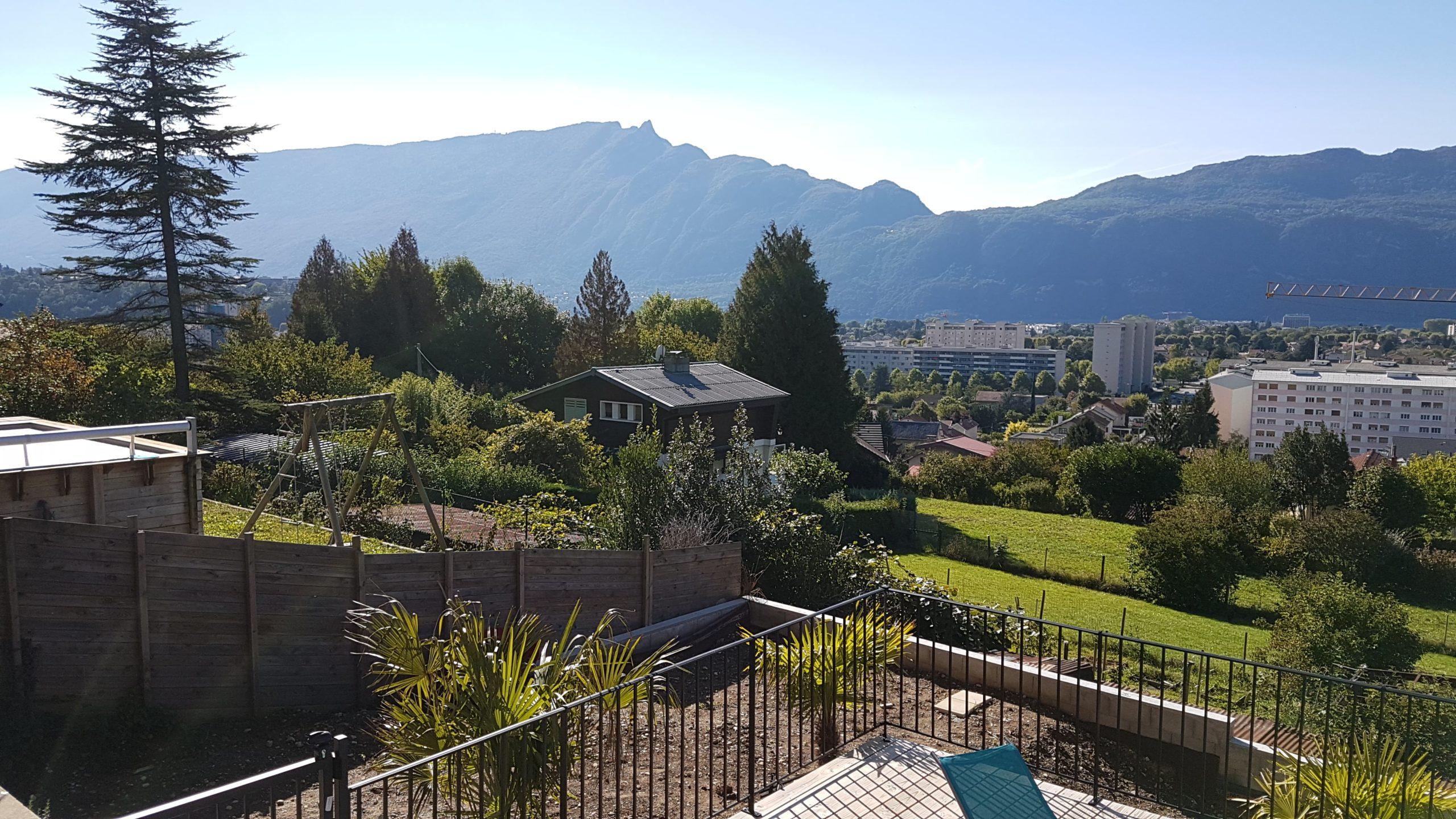 Vue de la terrasse - Le Riviera