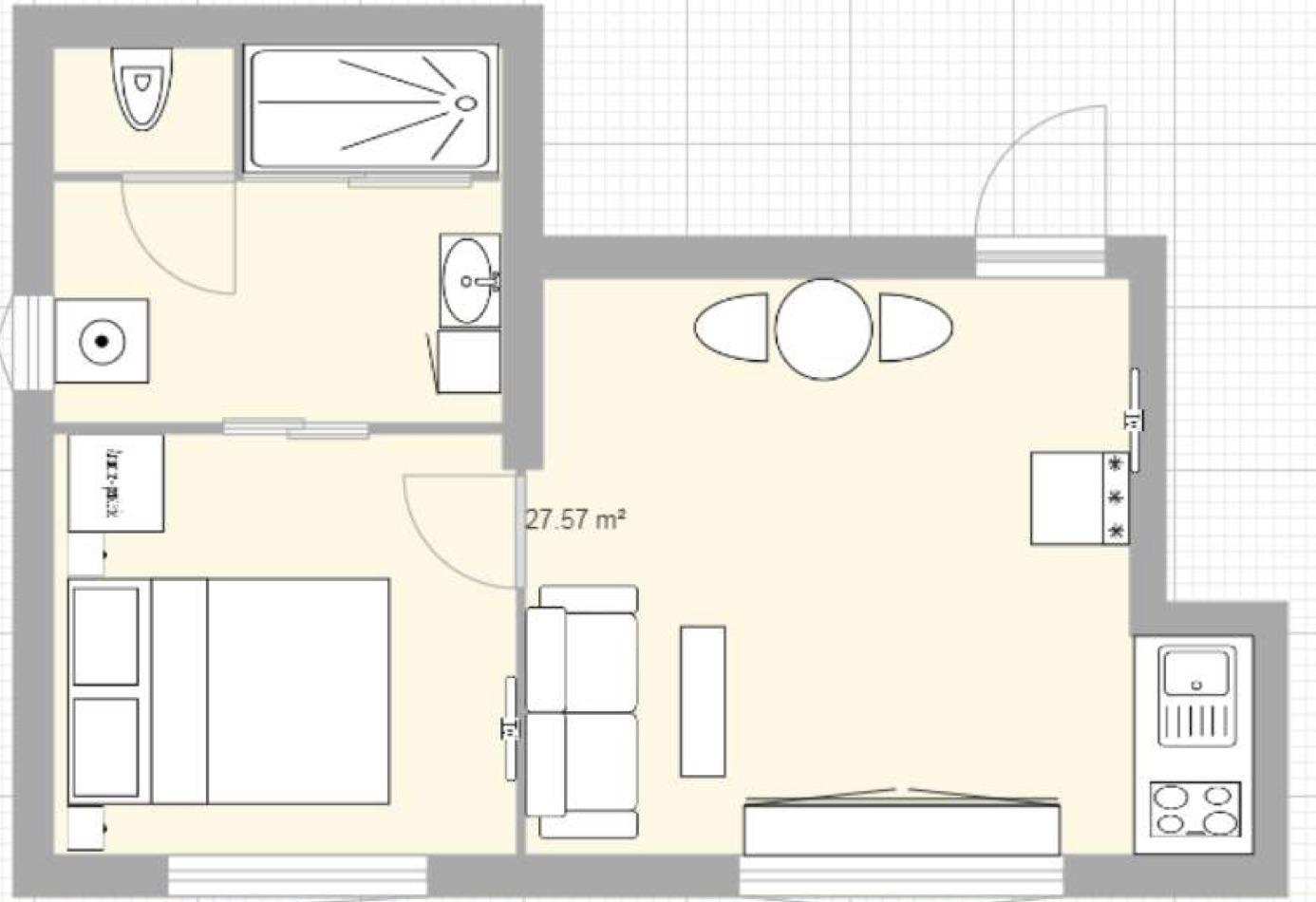 Plan appartement - Le Lofty